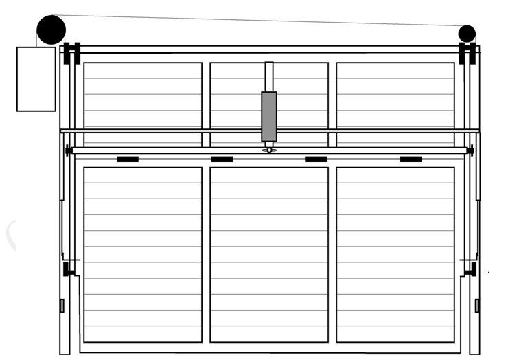 Puertas luz - Automatismo puerta basculante ...